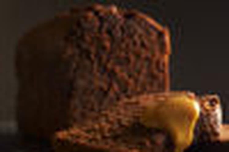 Cake au chocolat-carmel et Grand Marnier®