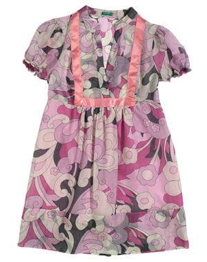 robe housse de benetton, ancienne collection (printemps-été 2009)