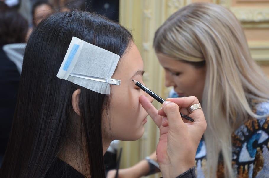 Le maquillage des yeux