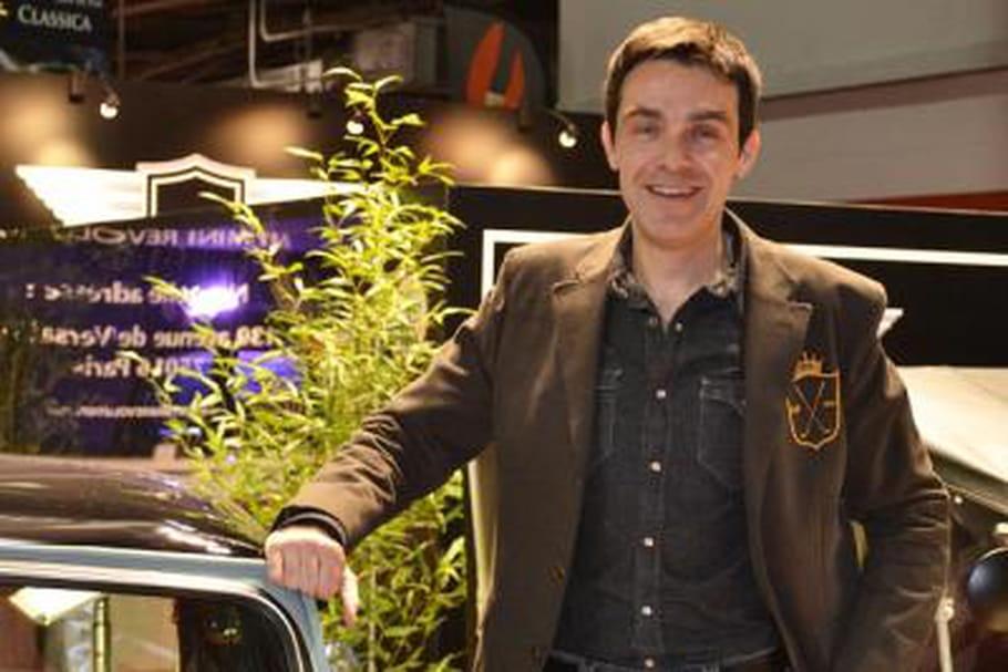 Grégory Galiffi à Rétromobile