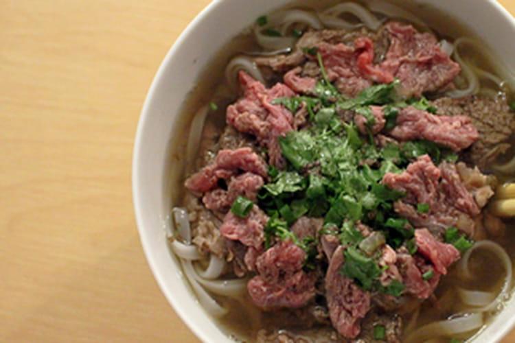 Pho, soupe de boeuf