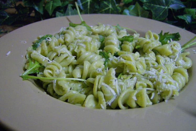Salade de roquette au parmesan