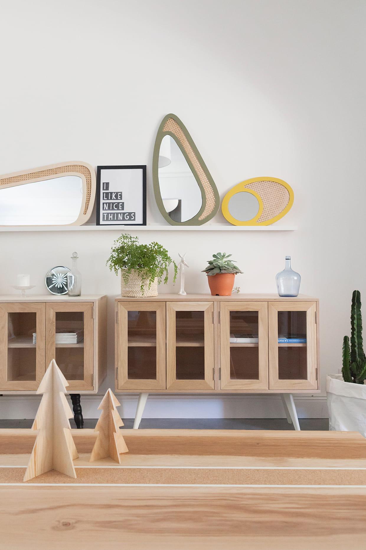 miroirs blomkal. Black Bedroom Furniture Sets. Home Design Ideas