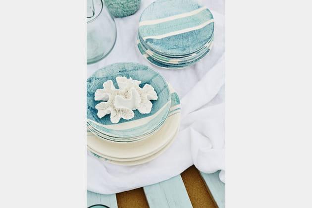 Vaisselle Plage du Grand Crohot de Côté Table