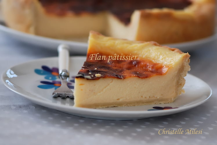 Flan pâtissier crémeux