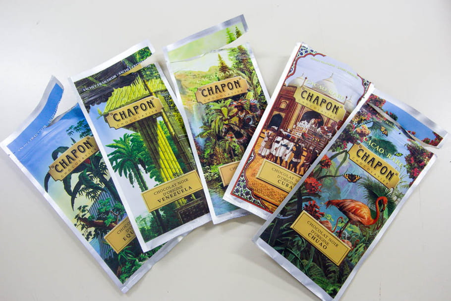 Reportage chocolatier Patrice Chapon : chocolats noirs