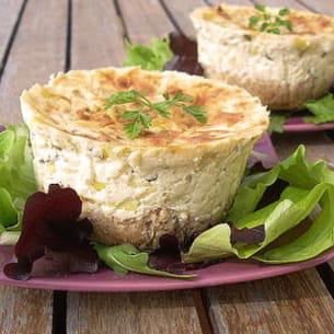 cheesecake aux poireaux