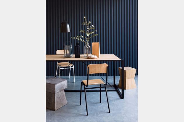 d co urbaine et authentique. Black Bedroom Furniture Sets. Home Design Ideas