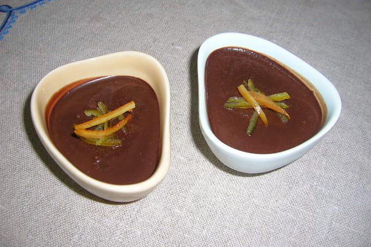 Petites crèmes chocolat intense aux épices