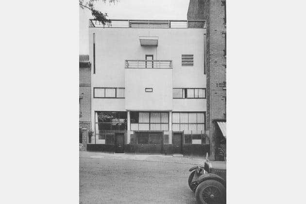 Photographie de la Maison Planeix, Le Corbusier et Pierre Jeanneret