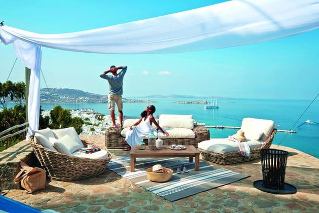 Salon de jardin Saint Tropez de Maisons du Monde