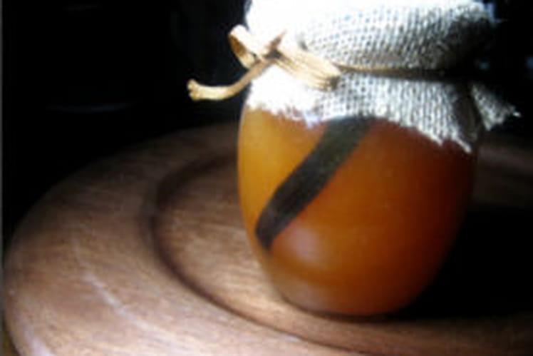 Confiture de melon à la vanille
