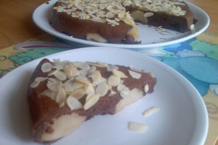 Fondant sans sucre poires-cacao