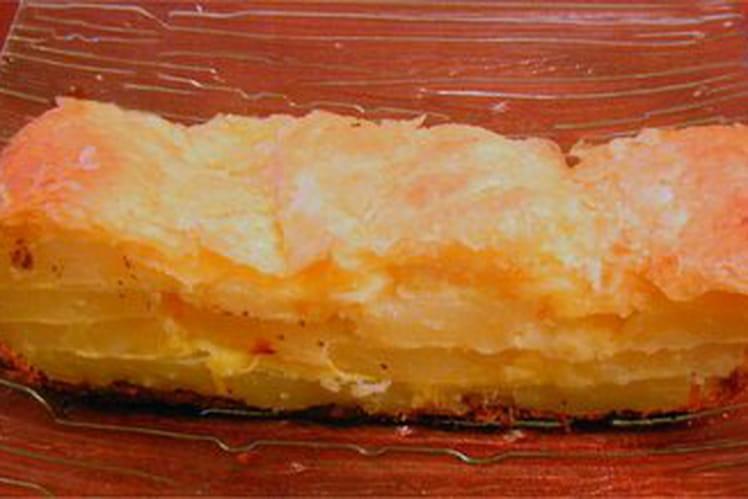 Gâteau de pommes de terre au jambon