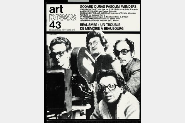 La couverture Photographe de l'Art Press N43