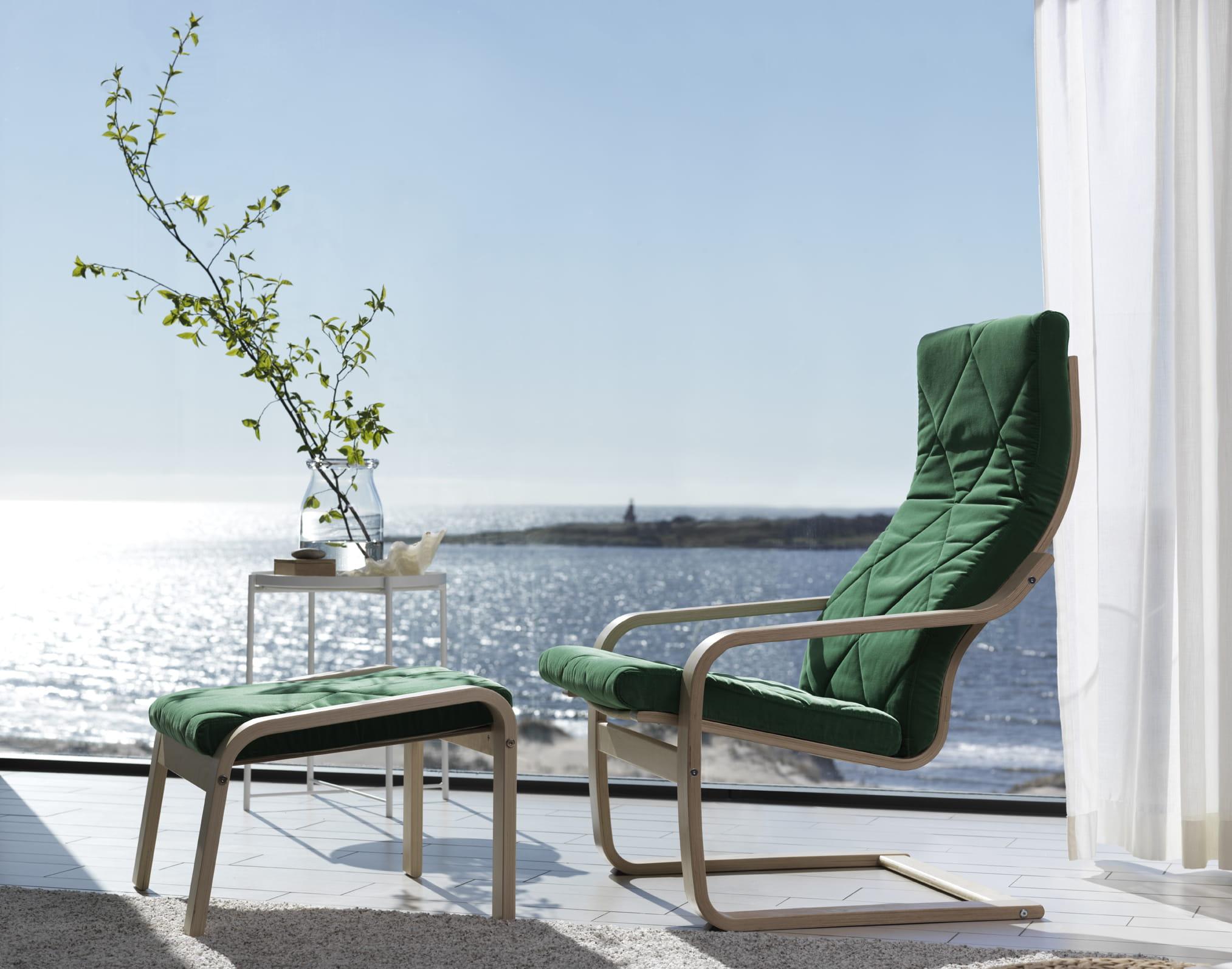 Le fauteuil Poäng d'Ikea a 40 ans