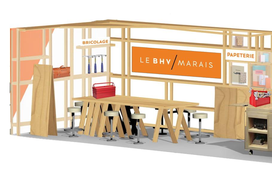 le bhv marais propose des cours de d co brico dans le m tro. Black Bedroom Furniture Sets. Home Design Ideas