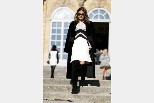 Street style à Paris : les cuissardes soft