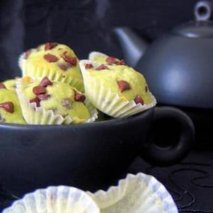mini muffins mentholés et chocolatés