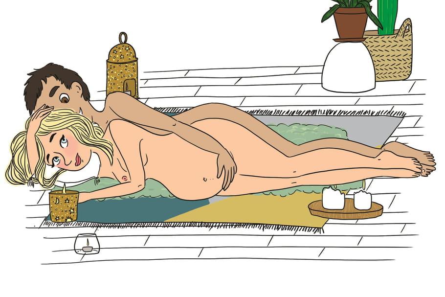 Kamasutra de la grossesse: le top des positions pour la femme enceinte