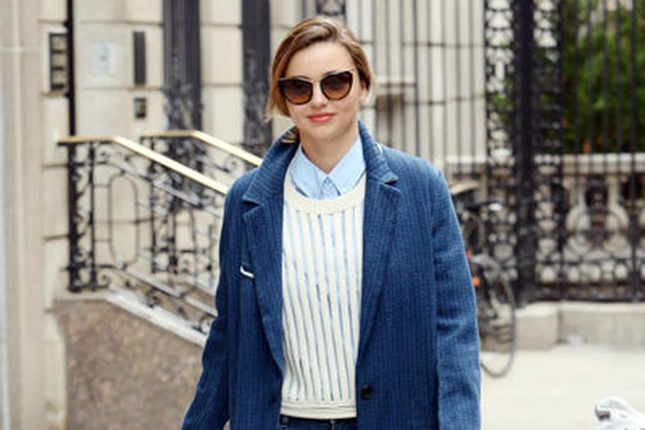 Le look du jour : Miranda Kerr, touche denim