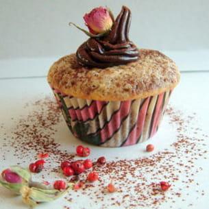 cupcakes chocolat poivre-rose