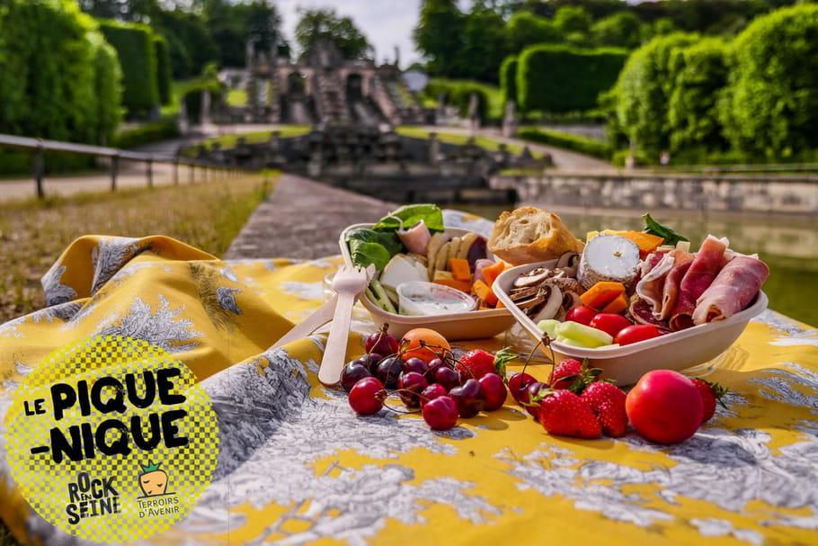 Pique-nique responsable à Rock en Seine avec Terroirs d'Avenir