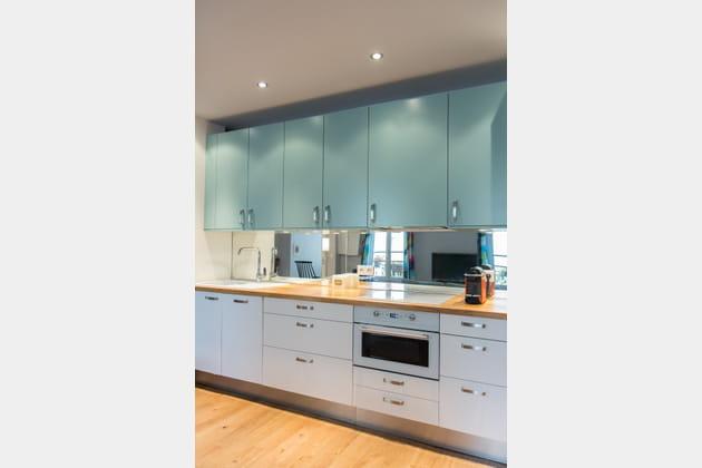 Une cuisine en longueur
