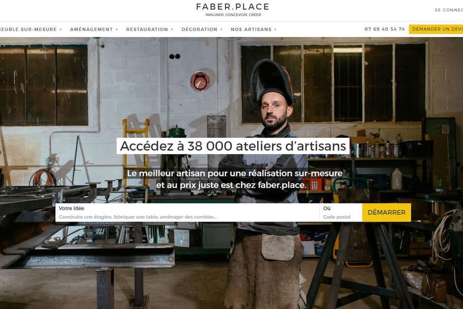 Faber.Place, la plateforme qui met en relation artisans et particuliers