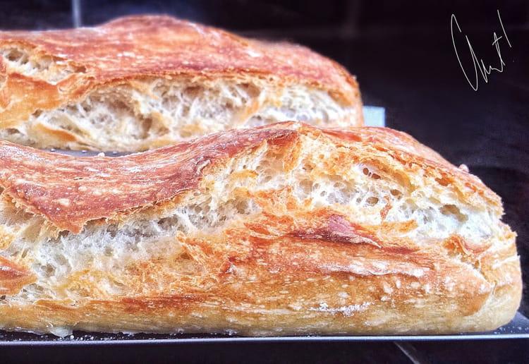 Recette de baguettes maison et sans map la recette facile for Baguette de pain maison