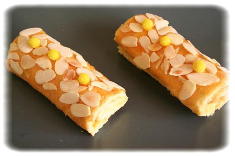 Minis roulés tonka et crème d'abricots