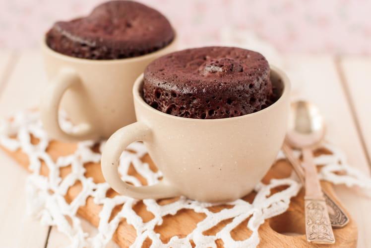 Mugcake fondant au chocolat : la meilleure recette