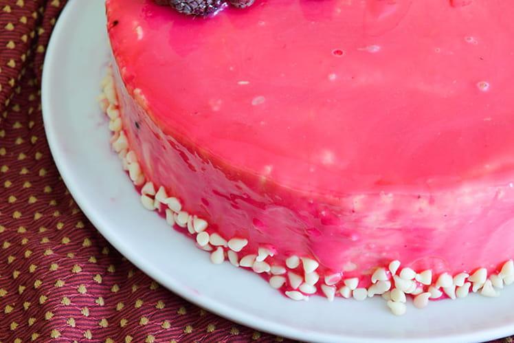 Entremets vanille intense et fruits rouges