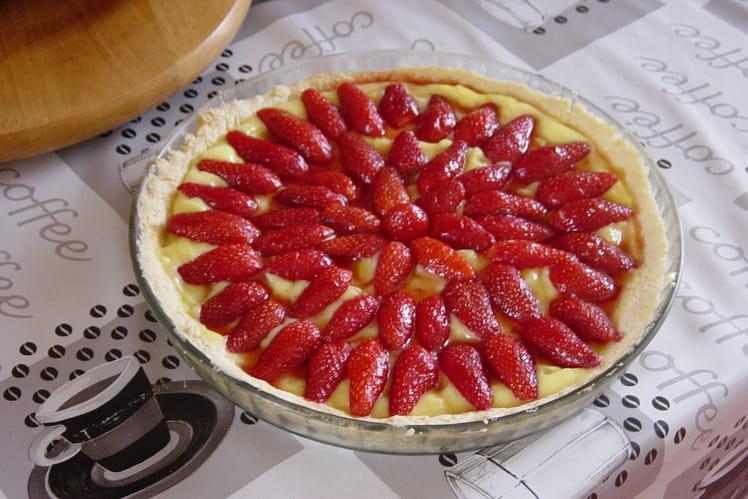 Tarte aux fraises basique