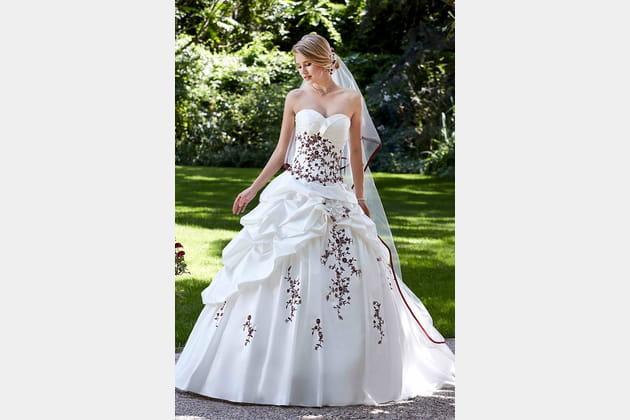 Robe de mariée Hellebre de Point Mariage