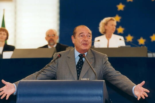 Jacques Chirac : euro-hémicycle