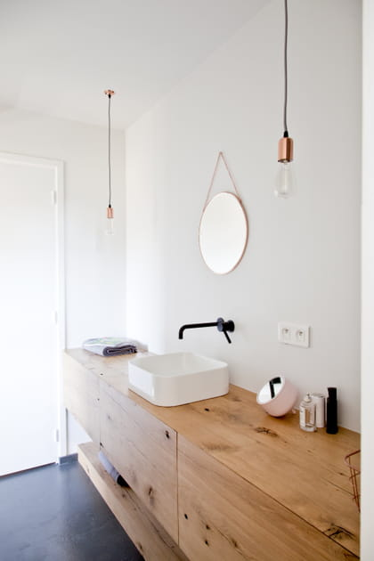 40exemples de salle de bains en boisvraiment canon