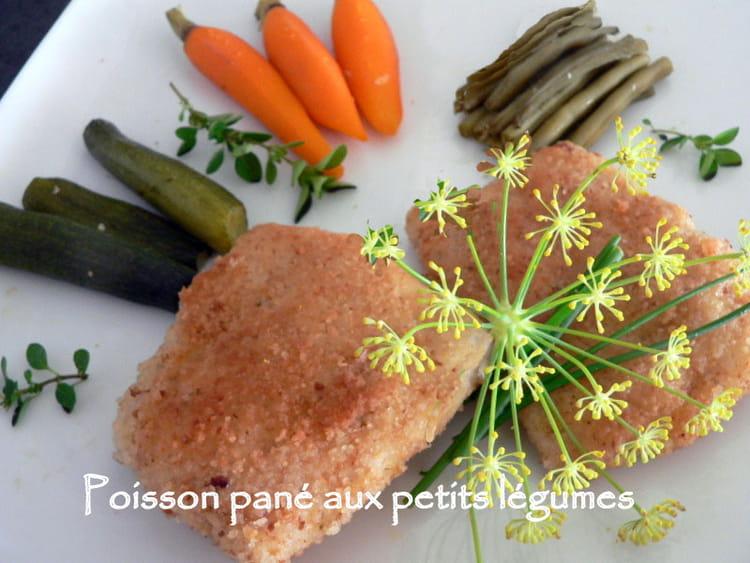 Recette De Poisson Pane Aux Petits Legumes La Recette Facile