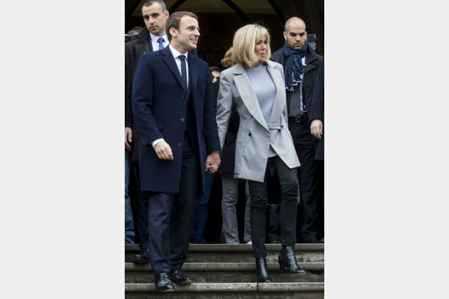 Brigitte Macron le 23avril 2017
