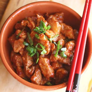porc braisé en mode shanghai