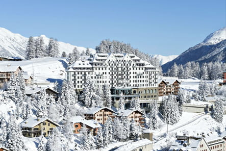 Hôtel**** Carlton St. Moritz