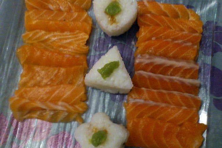 Sashimi japonais maison