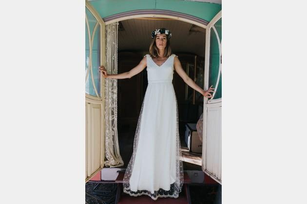 Robe de mariée Henrieth, Lorafolk