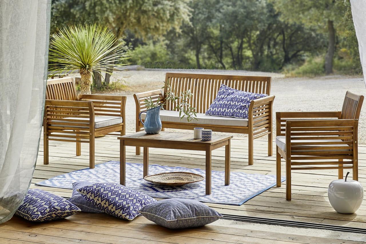 Salon de jardin Hanoï par Carrefour