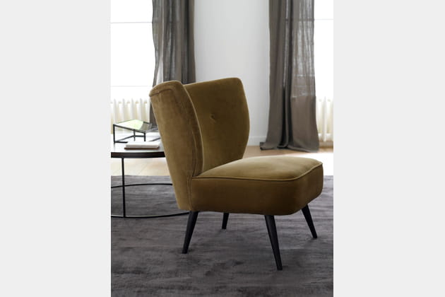 Fauteuil crapaud d'AM.PM.