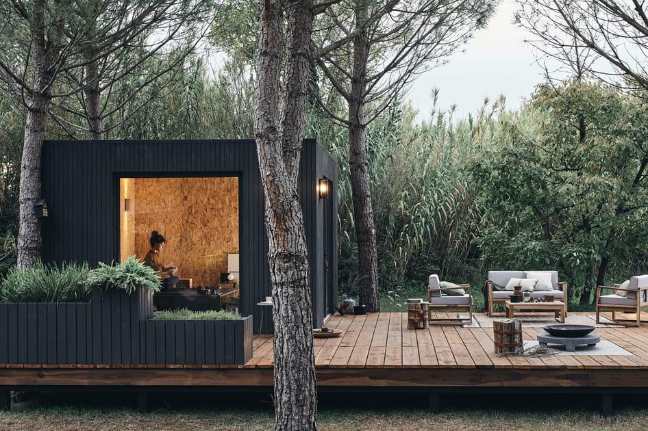 Un studio de jardin version refuge pour s'évader au vert