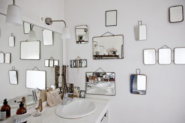 Salle de bains esprit broc