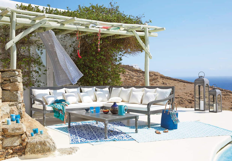 Salon de jardin chypre chez maisons du monde - Maison du monde salon de jardin ...