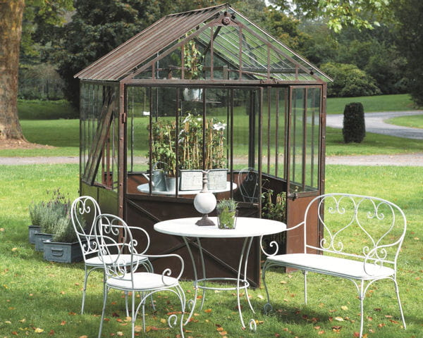Serre tuileries et collection saint germain for Serre de jardin fer forge