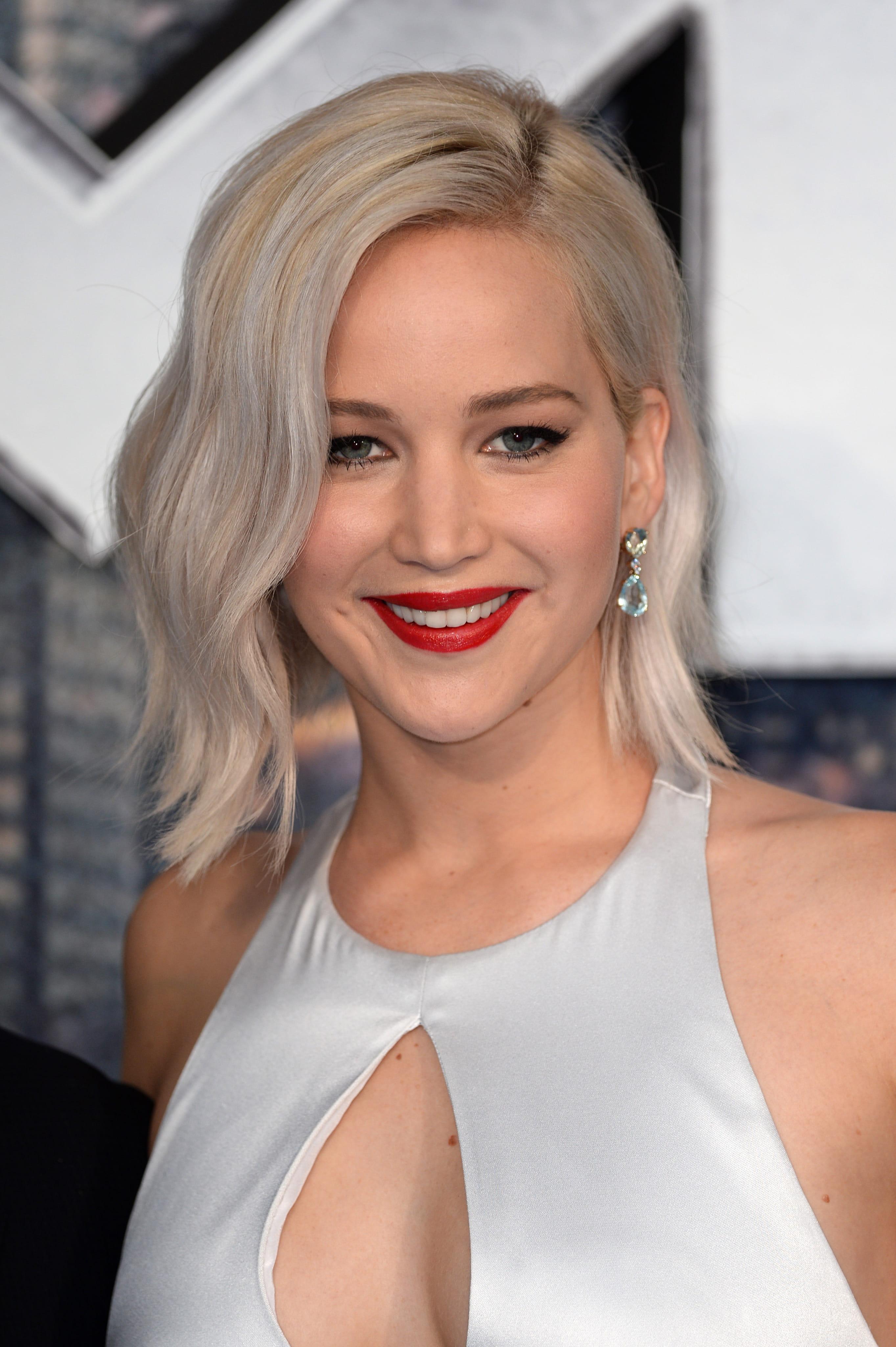 on pique le blond blanc de jennifer lawrence - Coloration Blond Blanc